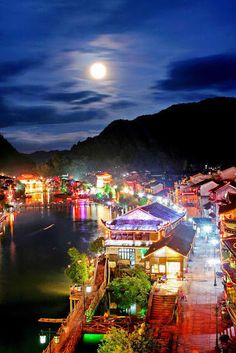 Fenghuang Old Town In China Travel Destination