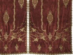INTERIORS - Soft Furnishings - Constance Velvet Curtain Panel by English Home