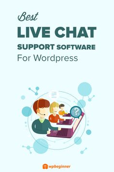 12 Best Live Chat Software for Small Business Compared (2021) Wordpress Help, Wordpress Website Design, Wordpress Plugins, Customer Service Quotes Funny, Online Marketing, Digital Marketing, Digital River, Marketing Techniques, Hosting Company