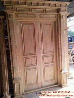 Main Entrance Door Design, Wooden Main Door Design, Double Door Design, House Entrance, Pooja Room Door Design, Bedroom Door Design, Modern Wooden Doors, Wood Doors, Gate Design