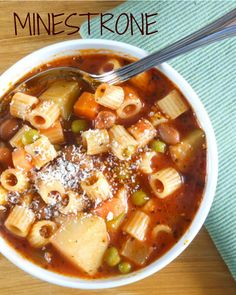 Minestrone, better than any soup or stew / anitalianinmykitchen.com