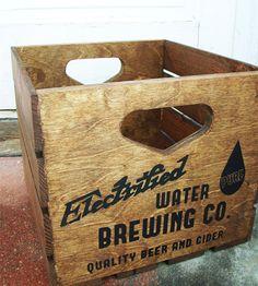 Reclaimed Wood Beer Crate