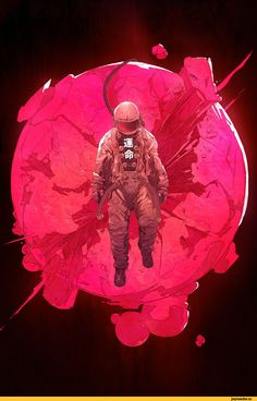 Chun Lo,красивые картинки,Sci-Fi,art,арт,космонавт