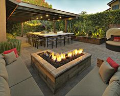 Harmonically Paver Fire Pit Fitting : DIY Fire Pit With Pavers. Diy fire pit with pavers. Paver Fire Pit, Diy Fire Pit, Outdoor Kitchen Plans, Outdoor Kitchen Design, Patio Kitchen, Open Kitchen, Outdoor Kitchens, Patio Pergola, Backyard Patio