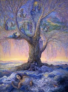 Josephine Wall | Tree of Reverie