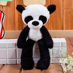 3D panda plush toys for kids decorative dolls pillow