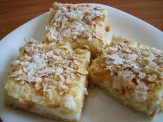 Desert prajitura cremes ca la Cluj Egg Recipes, Dessert Recipes, Romania Food, Eastern European Recipes, Pastry Cake, Dessert Drinks, Sweet Tooth, Bakery, Deserts