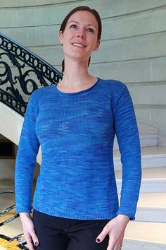 PATTERNFISH - Lightly Flared Sweater to Knit