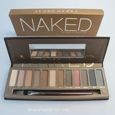 $13.78 Naked urban decay 12 color eyeshadow Someone buy me all of these pallets asap