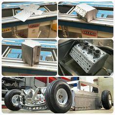 Small scale hot rod in bre metal Custom Radio Flyer Wagon, Radio Flyer Wagons, Kids Wagon, Toy Wagon, Go Kart, Pull Wagon, Custom Trikes, Little Red Wagon, Kids Ride On
