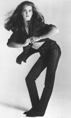 """""""You want to know what comes between me and my Calvins? Nothing."""" When 15-year-old Brooke Shields delivered that infamous line, the world gasped… and bought Calvin Klein jeans. Photo by Richard Avedon, Calvin Klein / Courtesy NPC, 1980."""