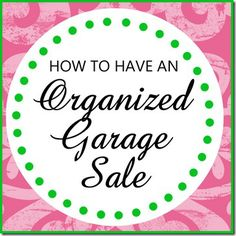 Hosting a MORE Organized Garage Sale. Lol this is a little ridiculous for a garage sale. Garage Sale Organization, Garage Sale Tips, Organization Hacks, Organization Station, Organizing Ideas, Be Organized, Getting Organized, Organized Garage, Rummage Sale