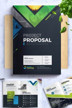 If you using this Proposal is a great tool to easily present information about your company and also a way for you to present and implement your projects. Corporate Flyer, Corporate Design, Corporate Identity, Business Flyer, Graphic Design Flyer, Graphic Design Projects, Brochure Layout, Brochure Design, Event Proposal Template