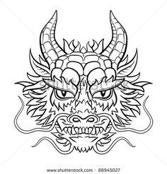 chinese dragon head - Google Search