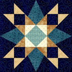 Star Quilt Blocks, Star Quilts, 24 Blocks, Barn Quilt Patterns, Pattern Blocks, Quilting Projects, Quilting Designs, Patchwork Quilt, Civil War Quilts