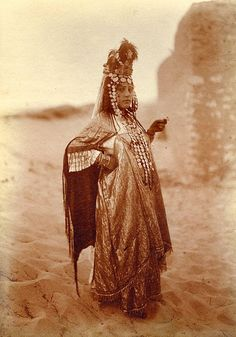 Ouled Nail Woman Dancer, Algeria. My favorite of the dances!!