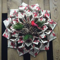 1000+ images about Fold´n Stitch Wreath on Pinterest ...