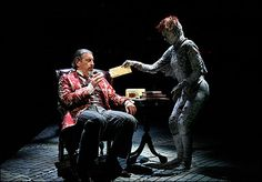 the screwtape letters - one man & his devilette helper who doesn't speak.  absolutely fabulous.  wish i knew the name of the actor who played it when i saw it....he was perfect