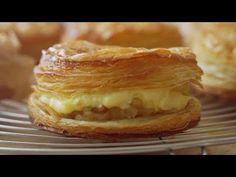 커스타드크림 애플파이 : Custard Cream Apple Pie   Honeykki 꿀키 - YouTube
