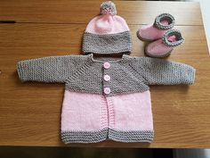 DK PATTERN 18-26inch  Jacket//cardigan and Hat 0111