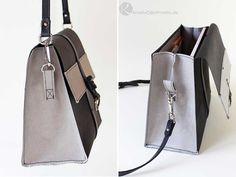 Elegante Handtasche aus SnapPap von Snaply