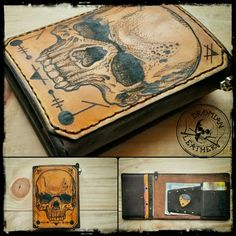 Minimalist tattooed wallet