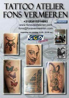 Tijd voor een tattoo!
