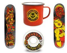 Antiz skateboards for #Carhartt #Skate
