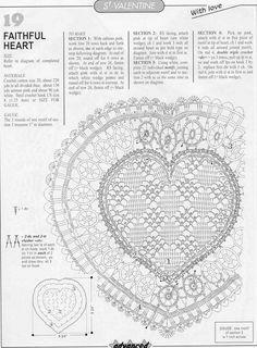 Вязаные сердечки.. Обсуждение на LiveInternet - Российский Сервис…