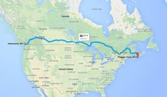 Tips For Planning A Cross-Canada Road Trip