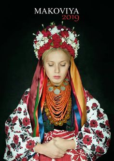 European Costumes, Floral Headdress, Costumes Around The World, Russian Fashion, Clothes Crafts, Historical Costume, Baby Girl Dresses, Ethnic Fashion, S Girls