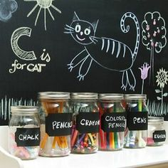 chalk board roll