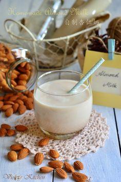 自制杏仁奶 Homemade Almond Milk