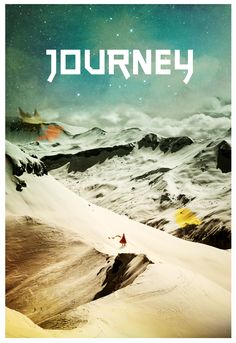A tribute image I made for the classic ps3 video game, Journey