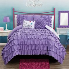 Product Image for Amanda Reversible Comforter Set 1 out of 3