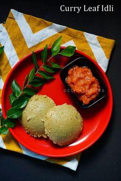 Curry Leaf Idli | Karuvepillai Idli | Kadi Patha ki Idli #curryleaf #idli #kadipatta #karuvepilai #breakfast #healthy #indian #foodporn #foodgasm