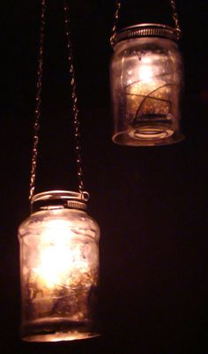 Spaghetti Jar Luminaries Mason Jar Craft | FaveCrafts.com