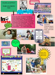 Cause and Effect Rube Goldberg Style - Great example of Design Technology in action.