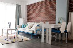 Apartament Nerva Traian – Lumina si culoare in doua camere cu stil Va prezentam un apartament cu doua camere intr-un imobil nou in centrul capitalei. Cu o suprafata generoasa, locuinta se inscrie in trendul noilor constructii din Romania, cu o compartimentare de tip decomandat, fara camara, dar cu bucatarie deschisa catre zona de zi. Alegerea pare cu atat mai potrivita, cu cat beneficiarul este un tanar inginer, cu un stil de viata activ, stil pe care am incercat sa il surpindem si in...