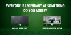 La #película de la semana no deja indiferente a nadie. ¿Conoces la nueva campaña de #Heineken ? Te la enseñamos con profundidad en aldeavillana.com