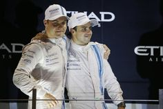 Claire, @MassaFelipe19 & @ValtteriBottas talk to @BBCF1 about our incredible finish to 2014: http://bbc.co.uk/sport/0/formula1/30170650 …