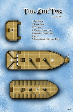 148 Best d&d boat maps images in 2019 | Maps, Ship map