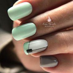 Girls Nail Designs, Bright Nail Designs, Square Nail Designs, Gel Nail Art Designs, Almond Nails Designs, Lilac Nails With Glitter, Lavender Nails, Subtle Nails, Neutral Nails