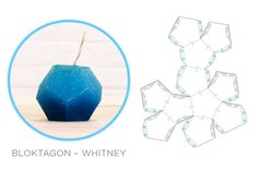 Geometric Downloadables for Concrete Vases, Coat Hooks and Candle Moulds - Image Whitney