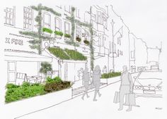 Green future proposed for London's Soho — Landscape Institute News