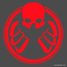 Paolo Rivera's Logo for the infiltrated SHIELD.