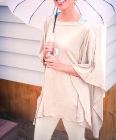 Natural Solana Maternity & Nursing Poncho | Daily deals for moms, babies and kids
