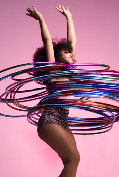 Hula Hooping Hen Party