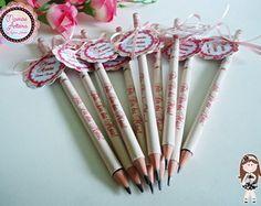 Lápis Personalizado Tema Dia das Mães