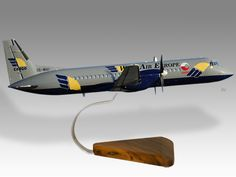 BAe ATP West Air Europe Cargo freighter model
